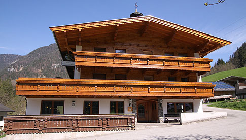 House - Guesthouse Gasthof Gwercherwirt in Brandenberg in the Alpbach valley Seenland Tyrol